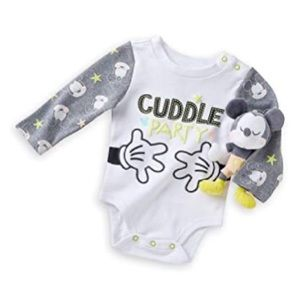 NWT Toddler Disney bodysuit gift set 12-18m